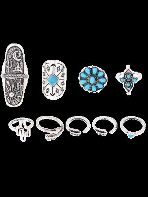 Tribu del estilo de los anillos en relieve