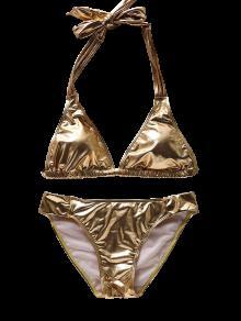 And gold bikini
