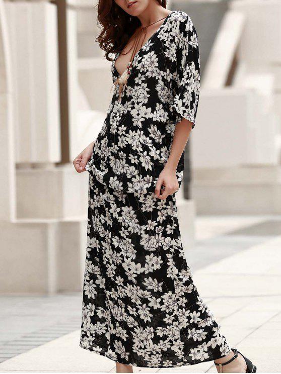 Vestido Princesa Boho - Preto S