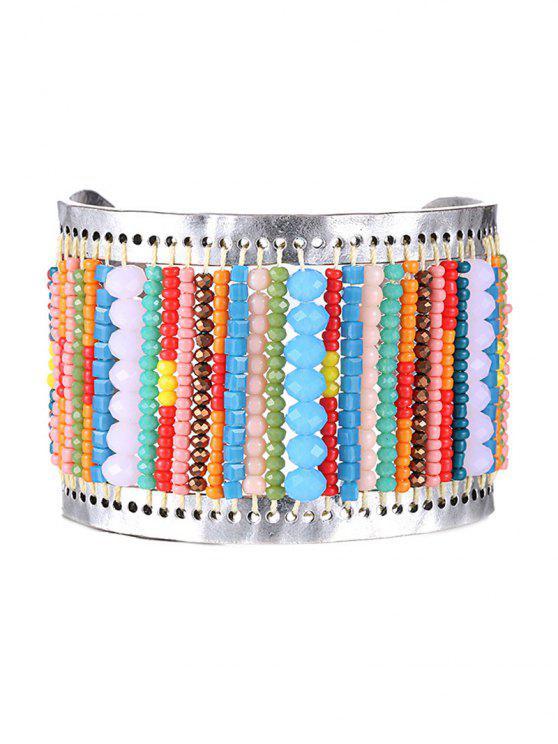 Élégant Colorful Bracelet Perle - Multicolore