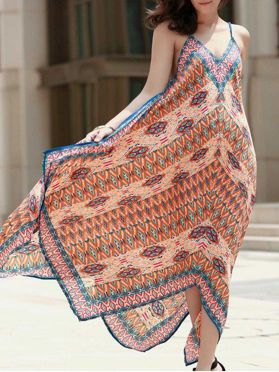 best Printed Hankerchief Dress - COLORMIX M