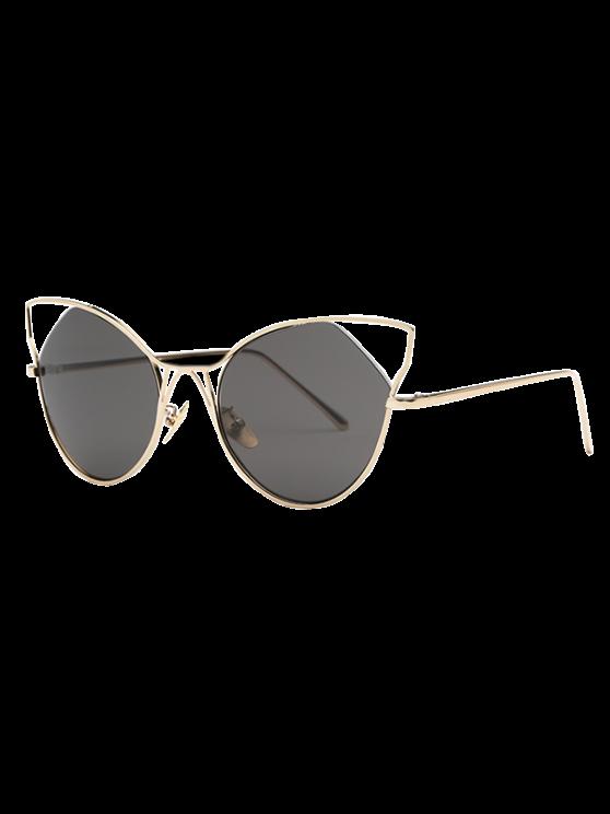 Recortable gafas de sol de oreja de gato - Dorado