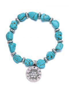 Bracelet élastique Turquoise élégant - Turquoise