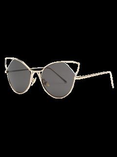 Cut Out Cat Ear Sunglasses - Golden