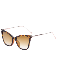 Leopard Butterfly Sunglasses - Brown