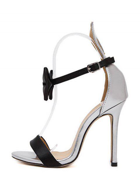 online Bow Bunny Ear Stiletto Heel Sandals -   Mobile