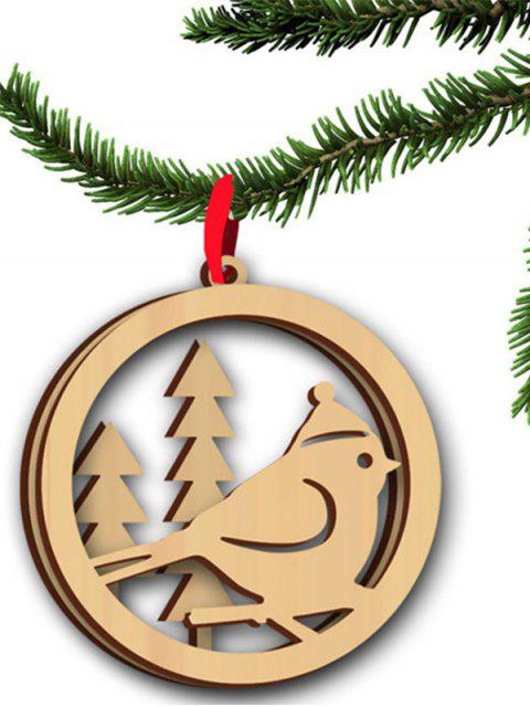 hot Christmas Tree Hollow Out Hanging Pendants Decoration -   Mobile