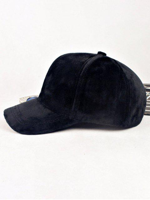 womens Lovers Adjustable Velvet Baseball Hat -   Mobile