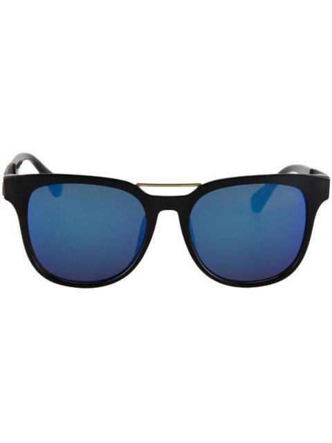 ladies Flower Shape Bulge Black Frame Sunglasses -   Mobile