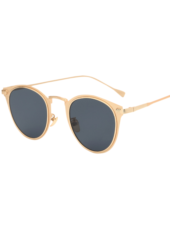 Métal Cat Eye Sunglasses - Or