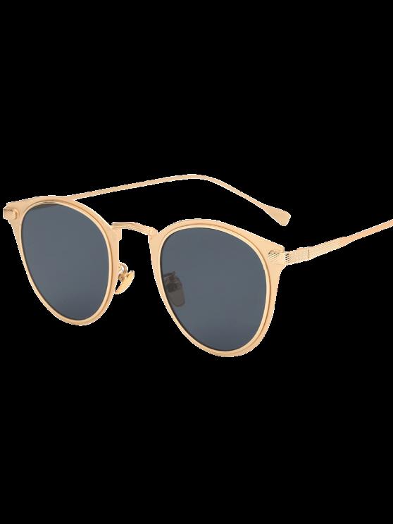sale Metal Cat Eye Sunglasses - GOLDEN