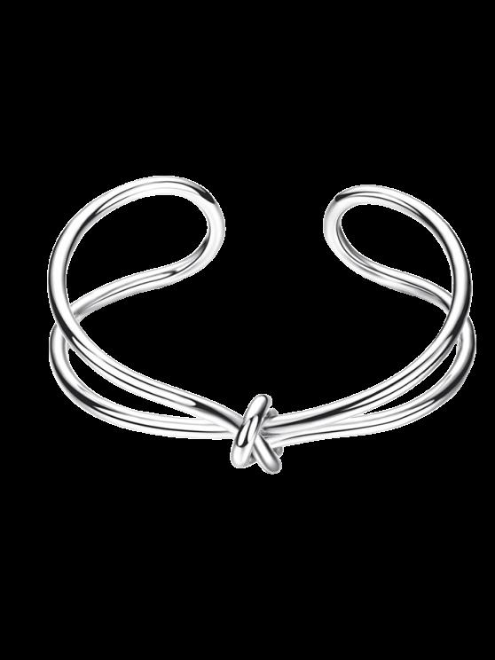 buy Infinite Knot Bracelet - SILVER