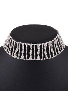 Collier Orné Strass -