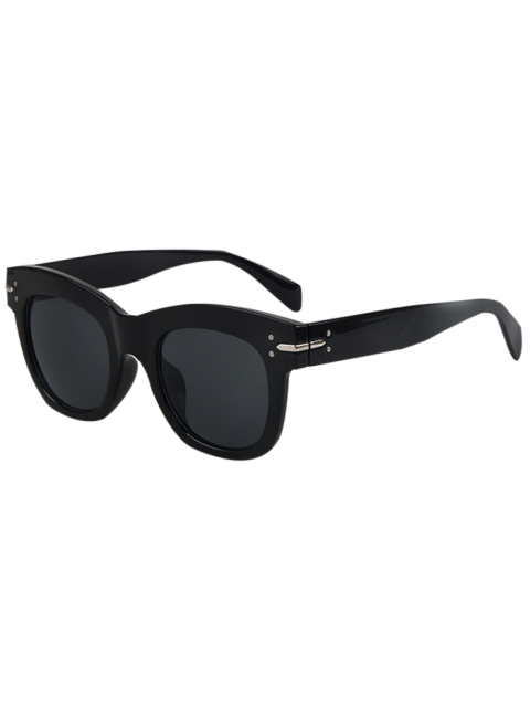 hot Retro Rewind Sunglasses - BLACK  Mobile