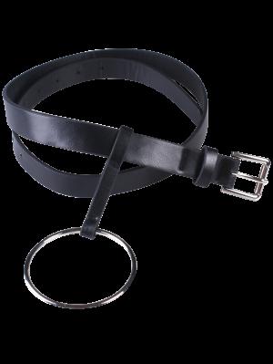 Aro De Hebilla De Cinturón - Negro