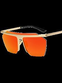 Gafas De Sol Sin Montura Espejadas Square - Jacinto