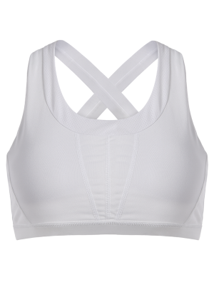 Cross Back Padded Sporty Bra Top