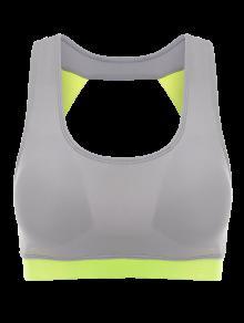 Haut De Sport Couleur En Bloc - Fluorescente Verte M