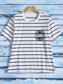 Rayas Camiseta Gráfica - Raya Xl
