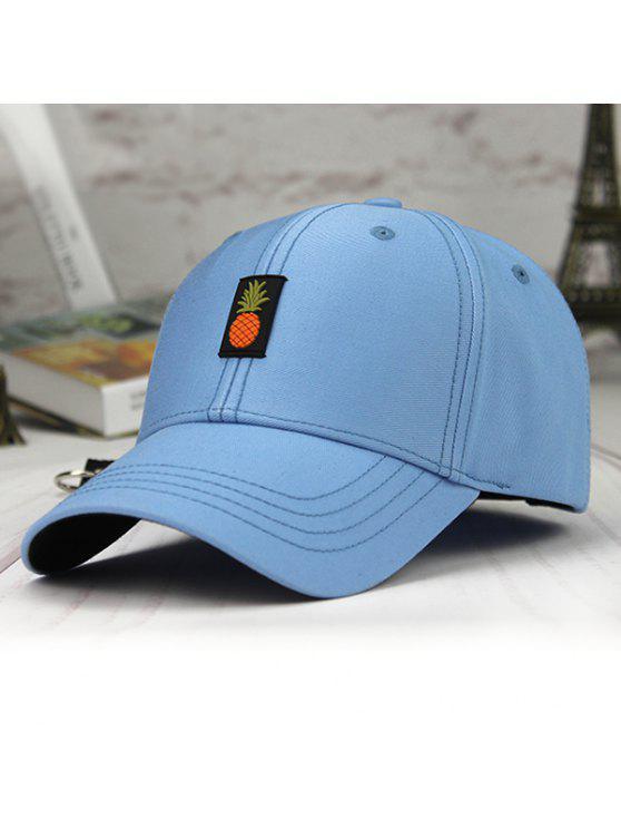 قبعة بيسبول مزينة بأناناس - الثلج الأزرق