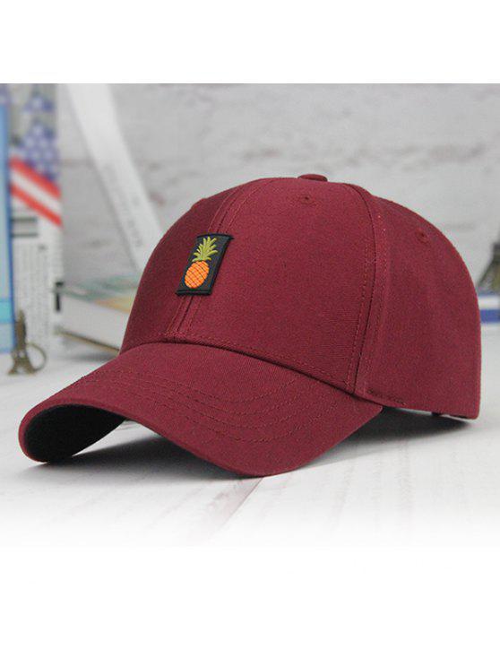 قبعة بيسبول مزينة بأناناس - الدم الأحمر