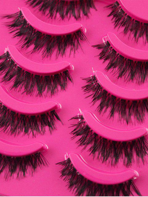 new 5 Pairs Dense Fake Eyelashes - TUTTI FRUTTI  Mobile