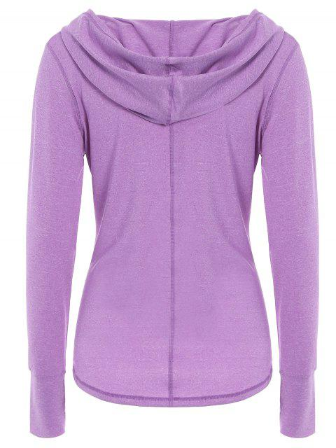 best Space Dye Hooded Sports T-Shirt -   Mobile