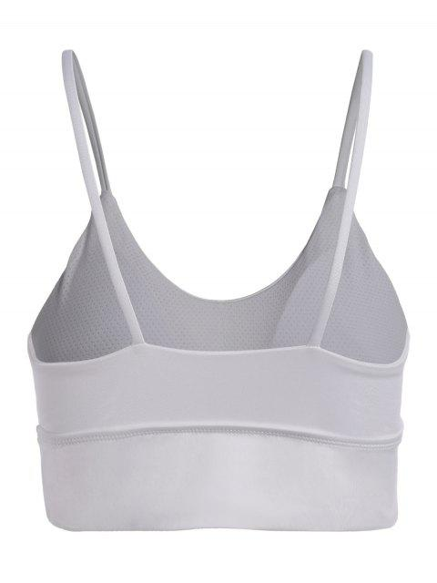 outfit Activewear Cami Bra - WHITE S Mobile
