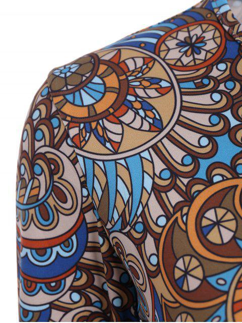 outfits Paisley Pattern Bodysuit - COLORMIX S Mobile