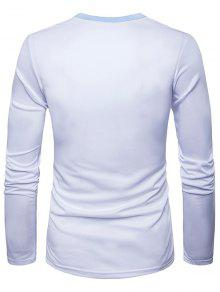 8a4aa200ac9f 26% OFF  2019 3D Doctor Costume Print Long Sleeve T-Shirt In WHITE ...