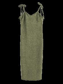 فستان ربطة الكتف مثير - ضوء ذهب M