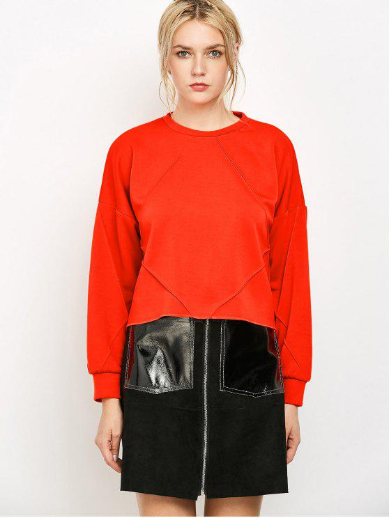 fashion Oversized Sweatshirt - JACINTH M