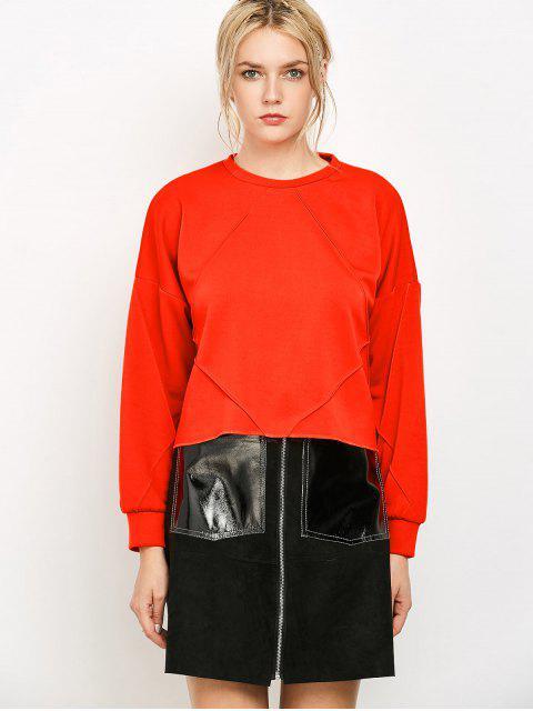 chic Oversized Sweatshirt - JACINTH S Mobile