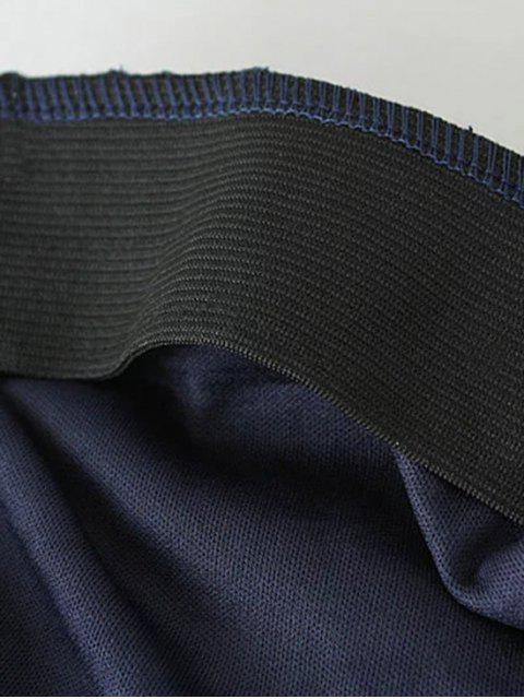 sale Crochet Lace Pencil Skirt - WHITE S Mobile