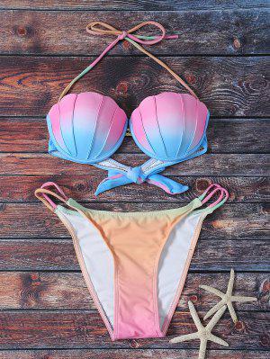 Ombre Cabestro Conjunto Del Bikini - S