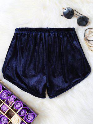 Short à Taille élastique - Bleu Violet M