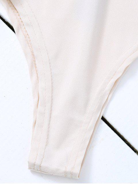 Combinaison pailletée à manches longues - Gris S Mobile