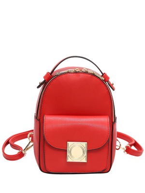 Metal Detal Mini Backpack