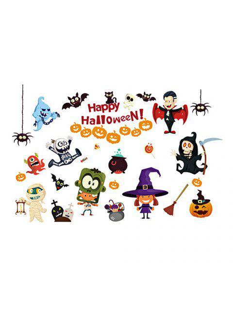 2018 Halloween Cartoon Room Pegatinas Decorativas De Pared Para ...