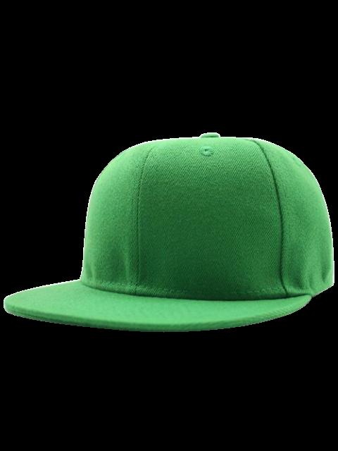 Casquette de Baseball de hip-hop de base - Herbe Verte  Mobile