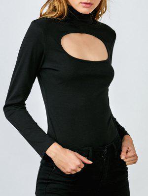 Découpez Out Superposition Bodysuit - Noir S