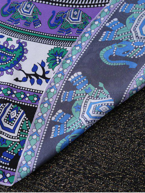 sale Paisley Print Lightweight Beach Throw - COLORMIX ONE SIZE(FIT SIZE XS TO M) Mobile