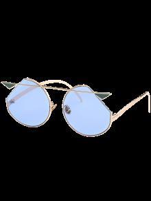 المعادن العارضة القط العين النظارات - جول الإطار + أزرق عدسة