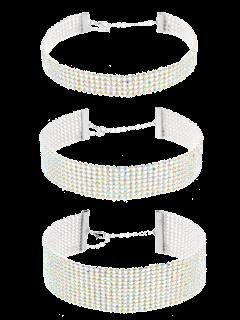 Assortiment De Collier Strass - Multicouleur