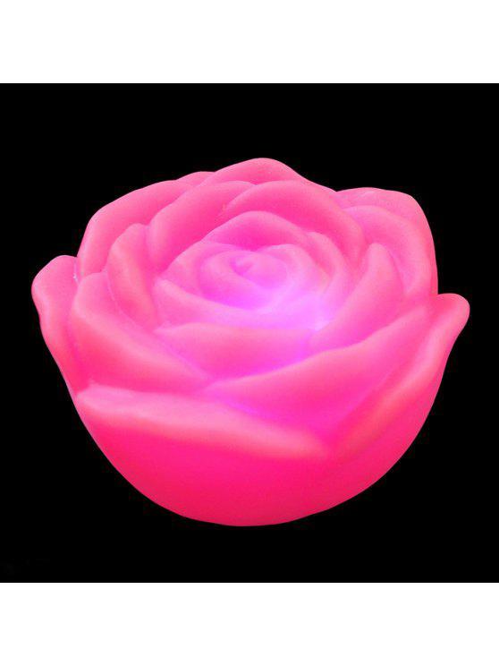 ملون الصمام روز زهرة ضوء الليل - زهري