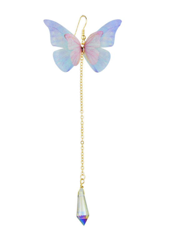 online ONE PIECE Butterfly Earring - WHITE