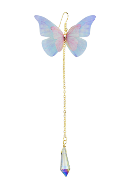 online ONE PIECE Butterfly Earring - WHITE  Mobile