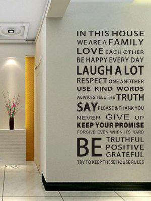 We Are Family Quote Wall Stickers For Living Room
