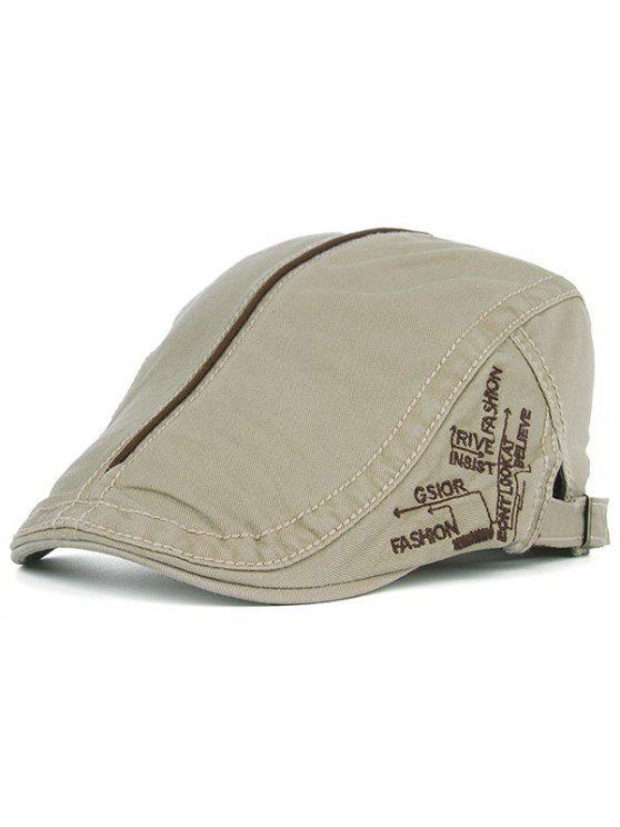 أوف حماية كاديت قبعة مع التطريز - ضوء كاكي