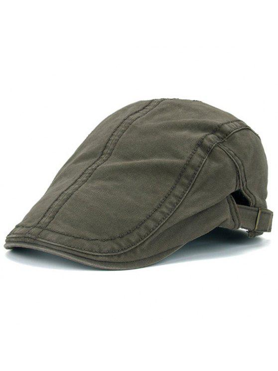 2019 UV Protection Jeff Cap With Sewing Thread In ARMY GREEN  ff6786dfc9e